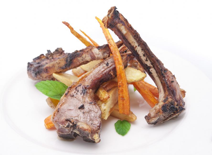 JetDine Menu m3 - Lamb Chop