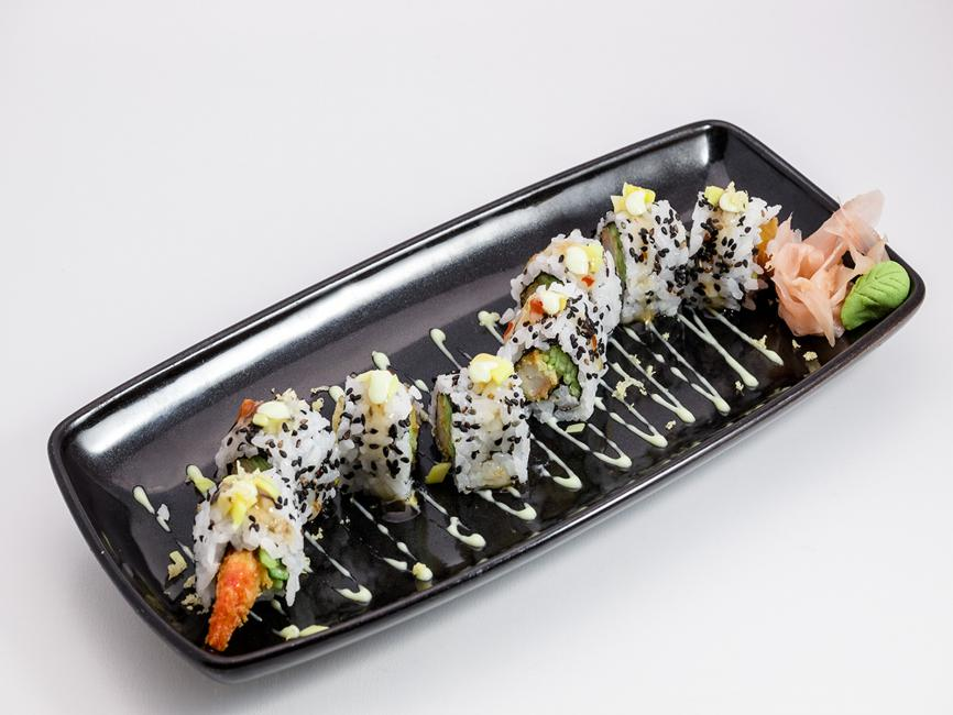 JetDine Menu J3 - Prawn Tempura Roll