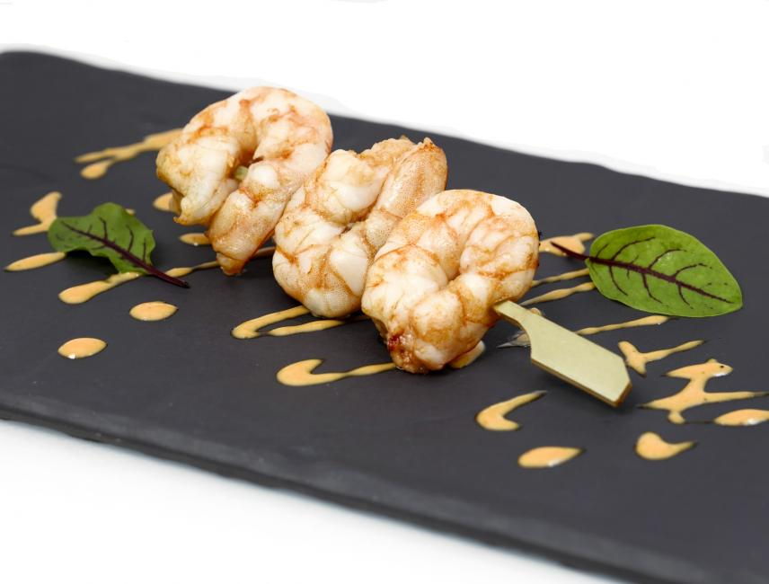 JetDine Menu F19 - Prawn Skewer