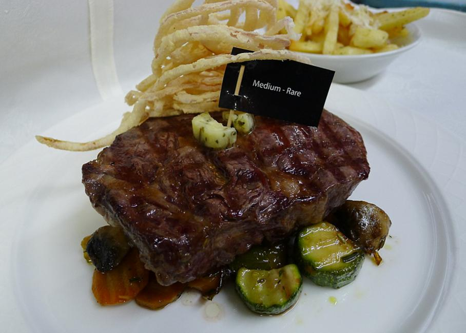 JetDine Menu m1 - Australian Rib Eye Steak